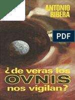 Antonio Ribera - De veras los OVNIS nos vigilan.epub