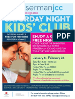 Saturday Night Kids' Club