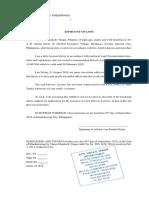 05 Affidavit of Loss of Driver's License.docx