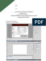 Tutorial Adobe Flash Bouncing Ball - Gita Diaz P - 4616010038