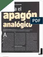 Hacia el apagón analógico