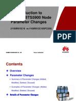 Material for BTS3900&BTS5900 Node Parameter Changes (V100R015C10 vs V100R012C10SPC330)