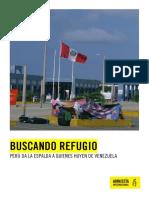 BUSCANDO REFUGIO PERÚ DA LA ESPALDA A LAS PERSONAS QUE HUYEN DE VENEZUELA