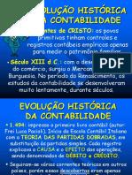 EVOLUÇÃO HISTÓRICA  DA CONTABILIDADE.ppt