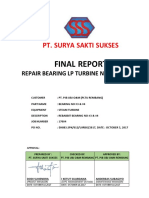 P-17004_Final report_Bearing LP turbine 3&4