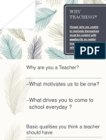 why teaching .pptx