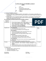 RPP 1 Lembar PJOK Kelas 6 Tema 6 Subtema 3.doc