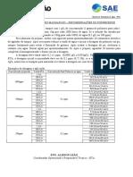 Recomendações de dosagem magnafloc polímero eta