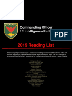 2019 reading list for Commanding_Officer_1_st_Intelligence_Bat.pdf