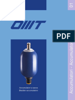 Hidraulični accumulator Lds 100K-EMA