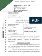 Meissner Filtration Prods. v Nordson Med. - Requesting §289 damages for utility patent infringement