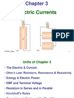 e01 Electric Currents