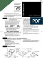 Manual de GBA SP en español