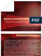 Business in Partnership Against Corruption