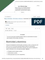 Electricidad y electrónica - Notas de los cursos 2
