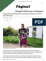 'El Charapa' Rengifo fichó por el Alianza _ Página3