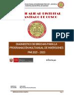 Diagnostico y Criterios 2021-2023