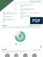 Encuesta Datanálisis sobre imagen favorable del Alcalde y otros aspectos