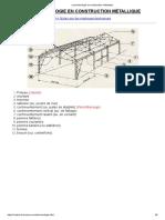 La terminologie en construction métallique