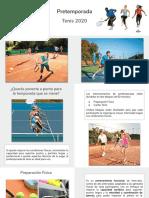 Pretemporada Tenis 2020 - La Martona