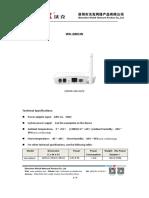 WK-2801W 1GE+WIFI EPON