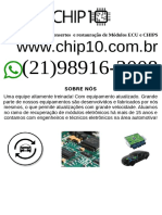 Conserto Manutenção Reparo Módulo injeção eletrônica veicular   Belo Horizonte-min