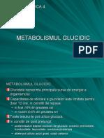4. METABOLISMUL GLUCIDIC