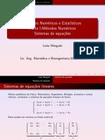 03 Sistemas de equações lineares