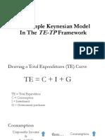 The Simple Keynesian Model In The TE-TP Framework.pptx