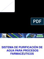 Sistemas de Purificacion de Agua Uso Farmaceutico 2010