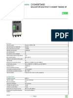Disjuntores EasyPact CVS_CVS400F3400