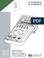 Multimetre Doc Tech