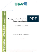 20 Years of Agricultural Reforms