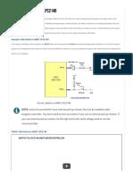 Add Switch to ARM7 LPC2148 - BINARYUPDATES