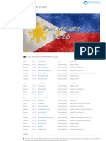 National Holidays in Philippines in 2020 _ Office Holidays