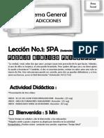 PEMSUM-COLEGIOS Tema General Adicciones