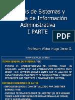 Análisis de Sistemas y SIA 1S 2011  I PARTE .ppt