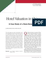 Hotel Valuation China 2010
