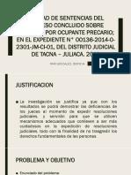 CALIDAD DE SENTENCIAS DEL PROCESO CONCLUIDO SOBRE DESALOJO.pptx
