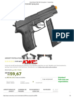 Airsoft Pistola P226 KWC Spring 6mm - VentureShop