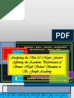 The Impact of Ranking on Academic Performance of Senior High School Students of St. Joseph Academy.pptx