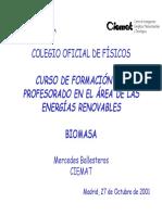 Ciemat curso energias renovables biomasa