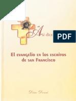 43. DOZZI D., El Evangelio en los escritos de San Francisco, ARANTZAZU, 2003.pdf