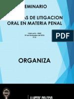 SEMINARIO DE TECNICAS DE LITIGACION ORAL EN MATERIA PENAL.pptx
