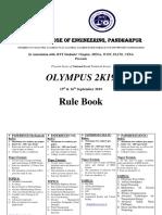 #Rule Book Olypmus 2K19-1