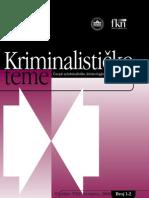 KRIMINALISTICKE TEME
