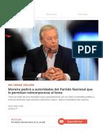 Moreira pedirá a autoridades del Partido Nacional que le permitan reincorporarse al lema.pdf