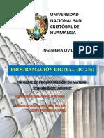INFORME DE PROGRAMACION DIGITAL
