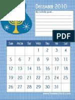 Activity December 2010 Hanukah