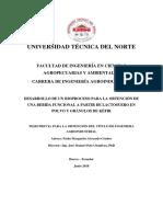 DESARROLLO PARA UN BIOPROCESO PARA LA OBTENCION DE UNA BEBIDA FUNCIONAL A PARTIR DE LACTOSUERO EN POLVO Y GRANULOS DE KEFIR.pdf